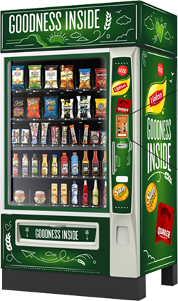 snack and beverage vending machine in Dallas Fort Worth