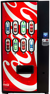 Vending Machines in Dallas Fort Worth Metroplex
